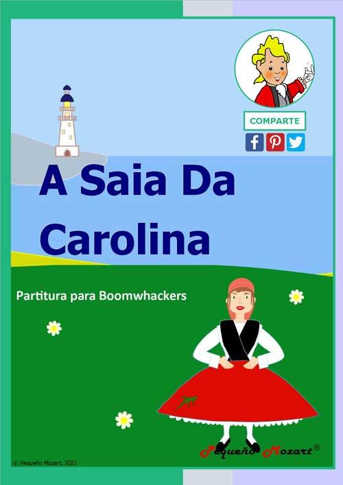 A Saia da Carolina - Partitura para Boomwhackers